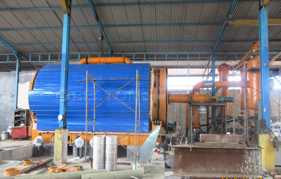 Beston Plastic Pyrolysis Plant for Sale with Excellent Design