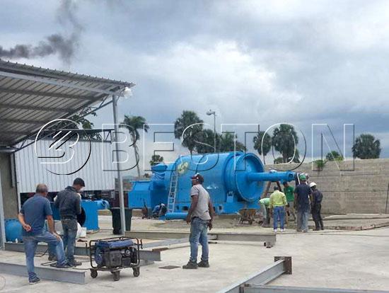 Plastic to Oil Plant in Dominica